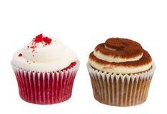 两块杯形蛋糕 库存图片