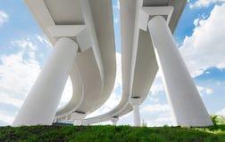两座天桥 免版税库存照片