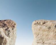 两座山 免版税图库摄影