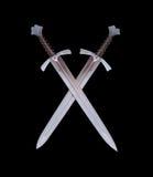 两把剑象征 图库摄影