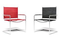 两把办公室椅子 免版税库存图片