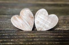 两木心脏 库存图片