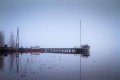 两条小船 免版税图库摄影