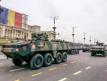 两栖装甲的载体 免版税图库摄影