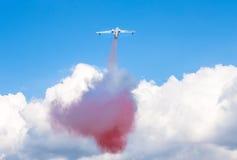 两栖飞机Beriev是200ES 免版税库存图片
