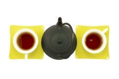两的,组织的男女茶 库存图片
