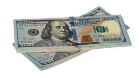 两盒美元 免版税库存图片