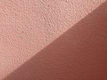 两种颜色的灰浆 库存照片