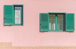 两窗口 图库摄影