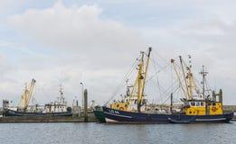 两艘捕鱼船 免版税库存图片