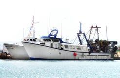 两艘捕鱼船 免版税图库摄影