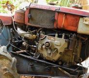 两轮子拖拉机 免版税图库摄影