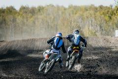 两辆BMX自行车 免版税库存照片