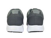 两运动鞋从后面 免版税库存图片