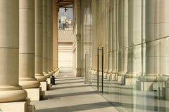 两道柱廊 免版税库存照片