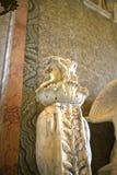 两面罗马上帝两面神雕塑圆顶场所的Borghese罗马Ital 库存照片