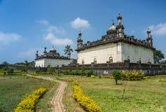 两领域王侯坟茔的皇家陵墓,马迪凯里印度 库存照片