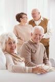 两更旧的婚姻 免版税库存图片