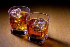 两份饮料 免版税库存图片