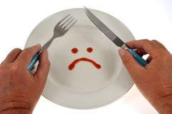 严密的饮食概念 免版税图库摄影