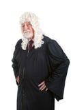 严肃的英国法官 免版税库存图片