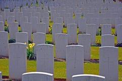 严重墓石战争 免版税库存照片