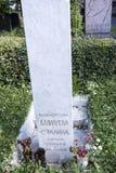 严重娜杰日达Allilueva- Stalina (从I的纪念碑 v 斯大林) 库存图片