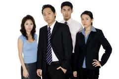 严重的企业小组 免版税库存图片