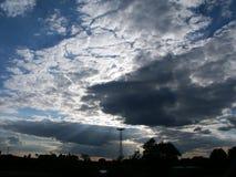 严重的天空 库存图片