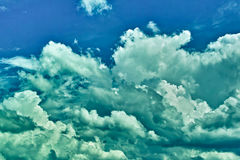 严重的天空 免版税库存照片