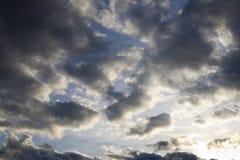 严重的天空 库存照片