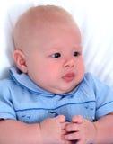 严重的婴孩 免版税库存图片