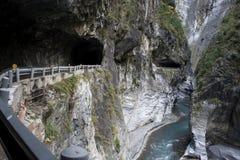 严重的峡谷 库存照片