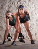 严重的新兵训练所样式锻炼 免版税图库摄影