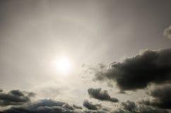 严重的cloudscape 图库摄影