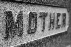 严重`母亲` 库存照片