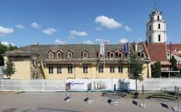 17个世纪宫殿的整修 库存照片