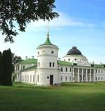 19个世纪宫殿  免版税库存照片