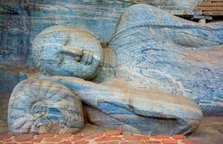 12个世纪Gal Vihara寺庙 库存图片