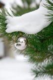 8个中看不中用的物品圣诞节eps文件停止的包括的结构树 免版税库存图片