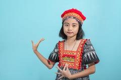 22个亚洲人夫人办公室 库存照片