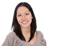 21个亚洲人夫人办公室 免版税库存照片
