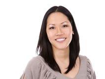 21个亚洲人夫人办公室 免版税库存图片