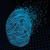 个人信息加密 库存图片