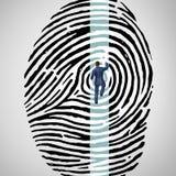 个人安全挑战 免版税图库摄影