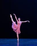 个人特殊号召力古典芭蕾` Austen汇集` 库存图片