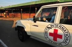 个人的红十字 免版税库存照片