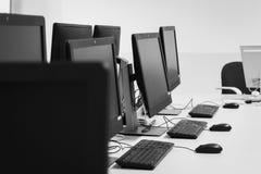 个人计算机室 免版税库存照片