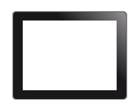个人计算机屏幕片剂接触 免版税图库摄影