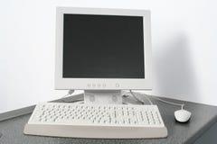 个人计算机工作区 免版税图库摄影